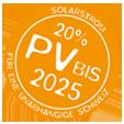 20%Sonnenkraft bis 2025