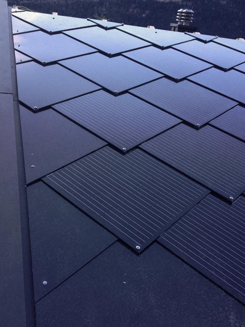 Fotovoltaik in freier Form mit Sunstyle