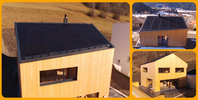 Inndach Arres 8.25 kWp 7500 kWh/Jahr 7418 Tomils